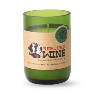 Rescued Wine Pinot Noir Soy Candle 12 oz - 80hr burn
