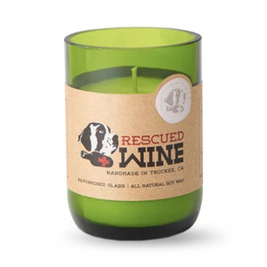 Rescued Wine Chardonnay Soy Candle 12 oz - 80hr burn