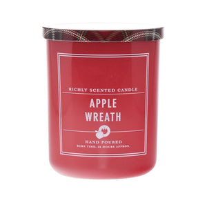 Apple Wreath Candle