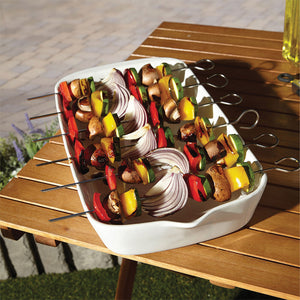 Serving Tray with skewers