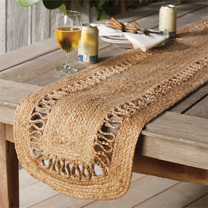 Jute Table Runner 70""