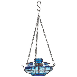 Bloom Perch Hummingbird Feeder - Aqua