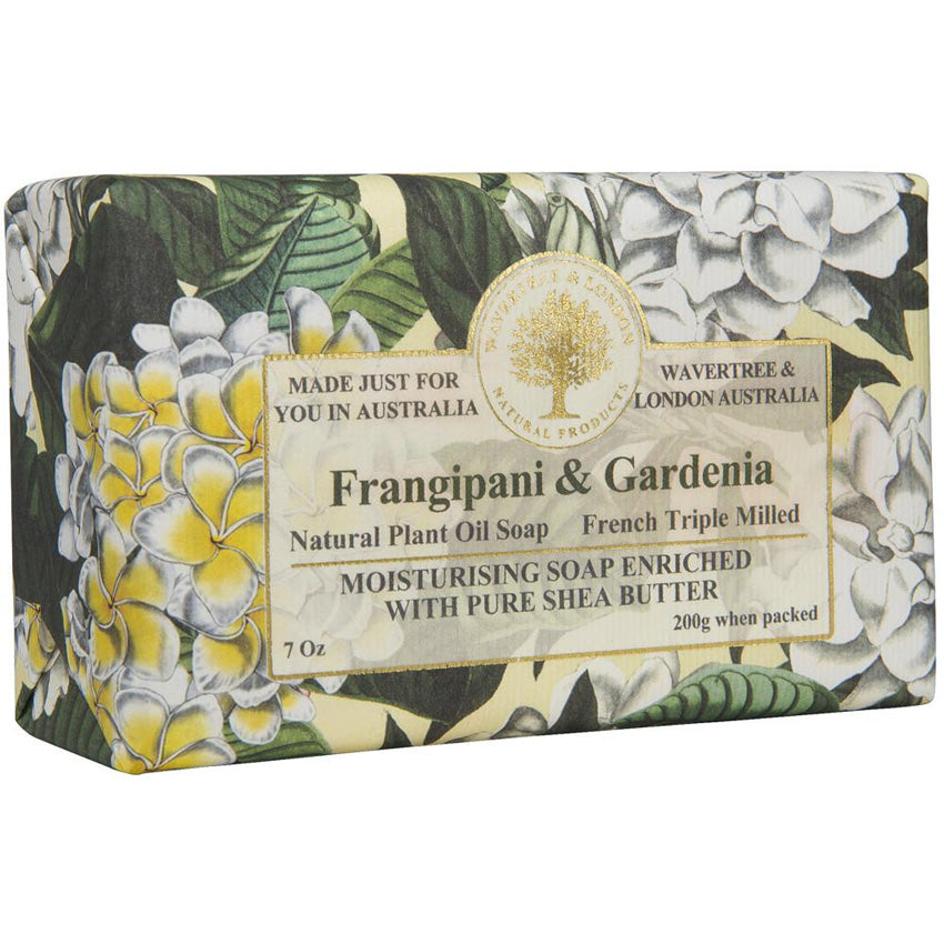 Frangipani & Gardenia Bar Soap 7oz
