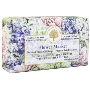 Flower Market Bar Soap 7oz