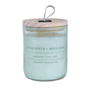 Eucalyptus & Mint Leaf Candle