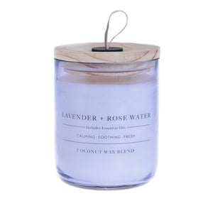 Lavender & Rose Water Candle