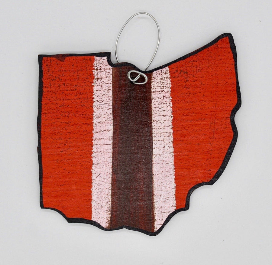 Cleveland Browns Wooden Ornament