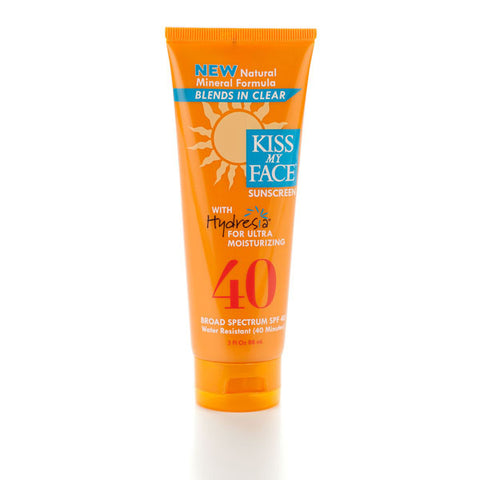 Natural Mineral Sunscreen SPF 40