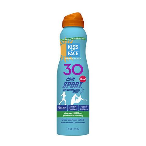 Cool Sport Mineral SPF 30 Lotion Continuous Spray Sunscreen