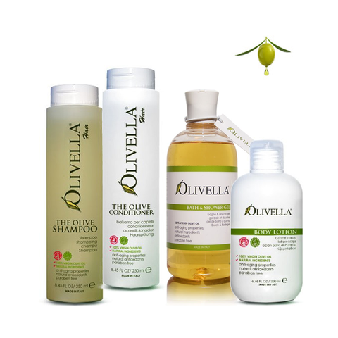 Olive Oil Bath Collection