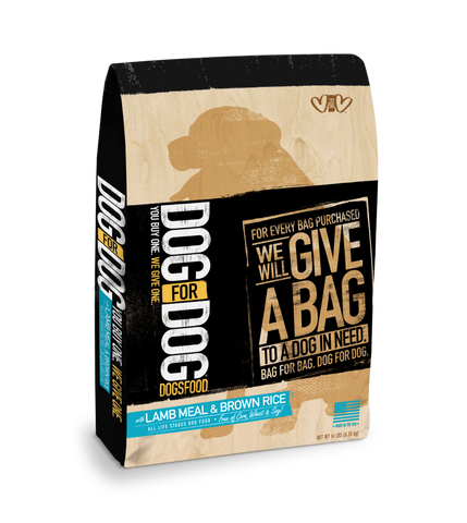 DogforDog Dogsfood Grain Free Dog Food Lamb & Brown Rice