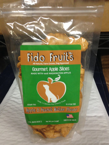 Fido Fruits--Apple & Peanut Butter