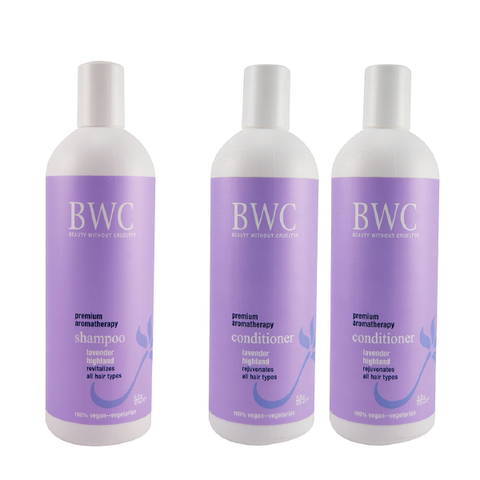 BWC Shampoo & 2 Conditioner Combo Lavender Highland