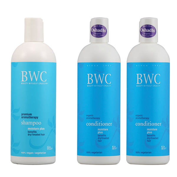 BWC Moisture Plus Shampoo & 2 Conditioner Combo