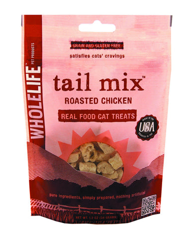 Whole Life Pet Roasted Chicken Tail Mix