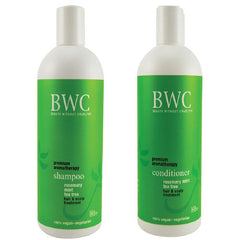 BWC Shampoo & Conditioner Rosemary Mint Tea Tree