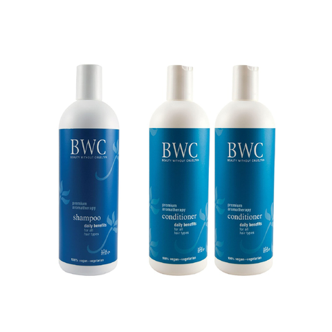 BWC Daily Benefits Shampoo & 2 Conditioners