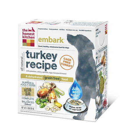 Embark Dog Food (grain free w turkey)