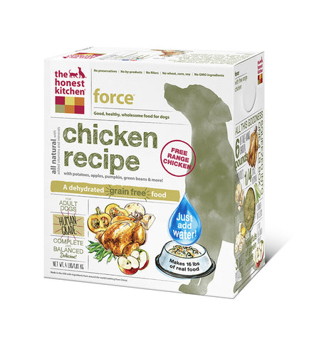 Force Dog Food (grain free w chicken)