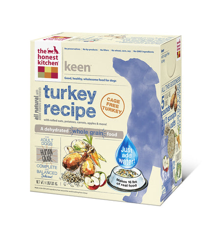 Keen Dog Food (whole grain w turkey)