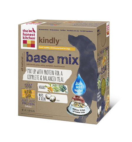 Kindly Dog Food (grain, potato & fruit free base mix)