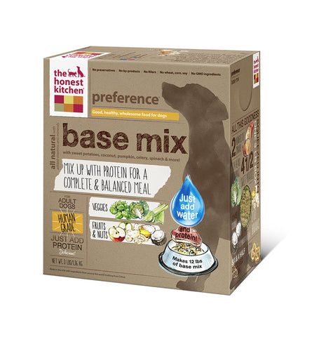 Preference Dog Food (grain & gluten free base mix)