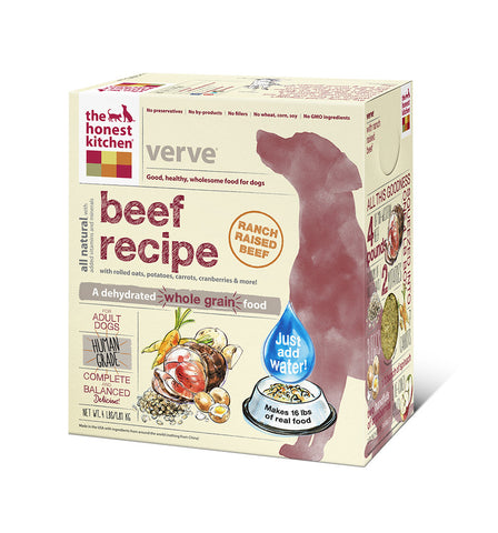 Verve Dog Food (whole grain w beef)