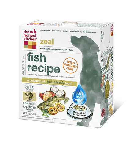 Zeal Dog Food (grain free w white fish)