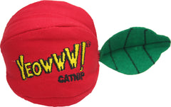 Yeowww! catnip filled apple cat toy