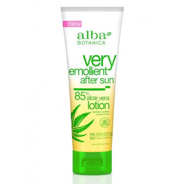 After Sun Lotion -- 85% Aloe Vera