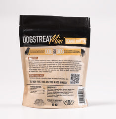 DogforDog Dogstreat minis peanut butter back of the bag