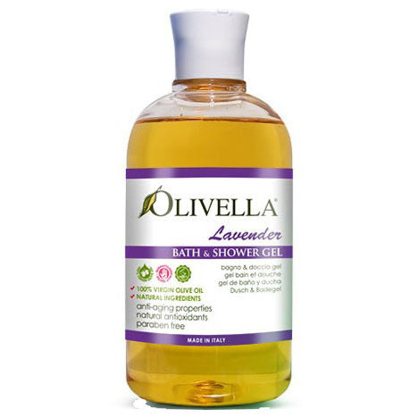 Olive Oil Bath and Shower Gel Lavender