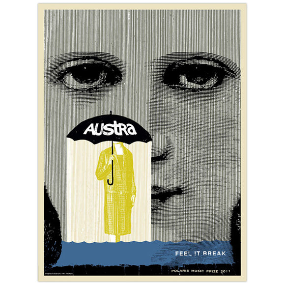 Austra 2011 Polaris Music Prize Large Poster