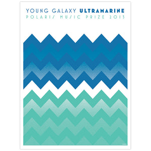 Young Galaxy 2013 Polaris Music Prize Poster