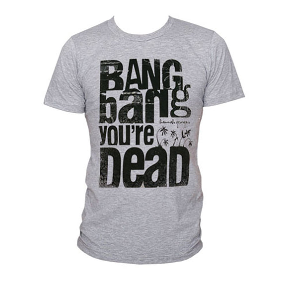Bang Bang You're Dead Heather Grey T-shirt