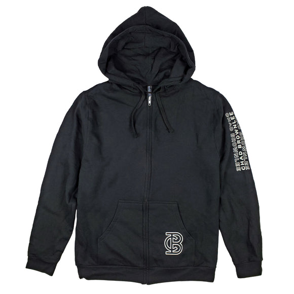 CB Pocket-Sleeve Print Hoody