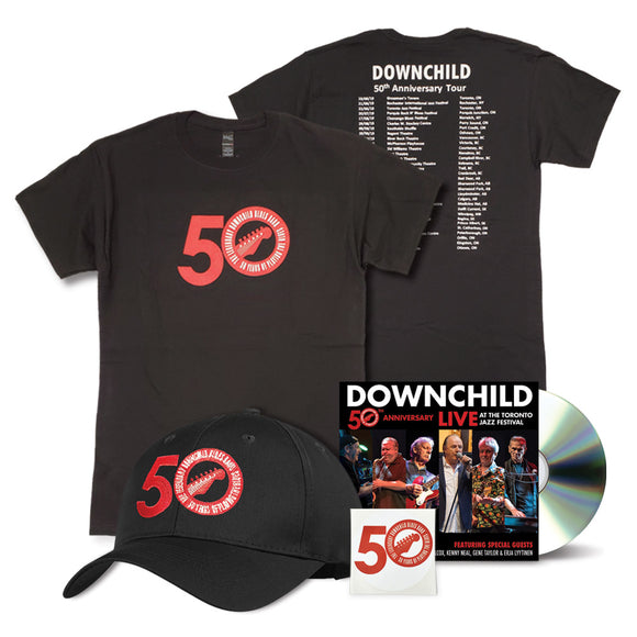 50th Anniversary CD Superfan Bundle – Men