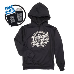 Hooded Tour Sweatshirt with Free Koozie