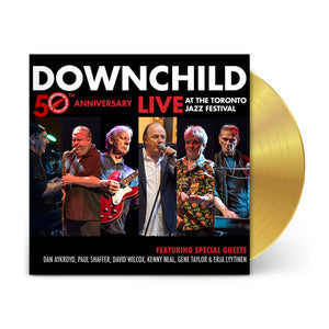 "LP (SIGNED Limited Edition Gold) : 50th Anniversary ""Live At The Toronto Jazz Festival"""