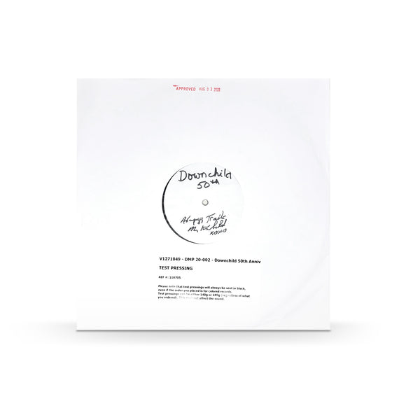 LP (Test Pressing ): SIGNED 50th Anniversary