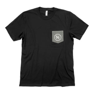 Black Pocketed T-shirt