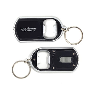 Side Effects Key Chain/Bottle Opener