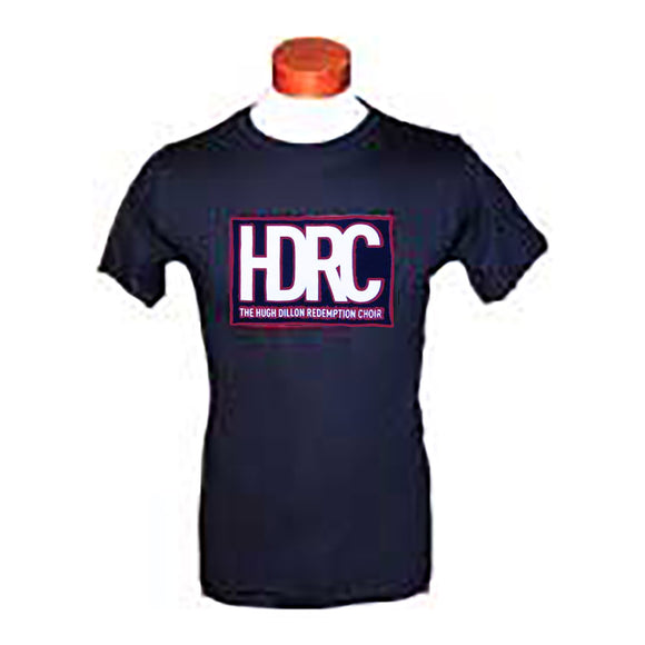 HDRC Men's T-Shirts (Black/Red)