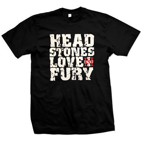 Love + Fury Black T-Shirt