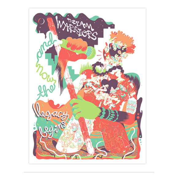 Dream Warriors 2018 Slaight Family Polaris Heritage Prize Poster