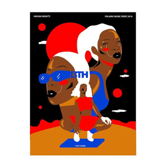 Haviah Mighty 2019 Polaris Music Prize Poster