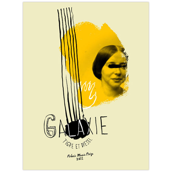 Galaxie 2011 Polaris Music Prize Small Poster