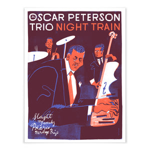 The Oscar Peterson Trio 2019  Slaight Family Polaris Heritage Prize poster