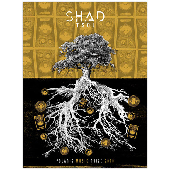 Shad 2010 Polaris Music Prize Small Poster