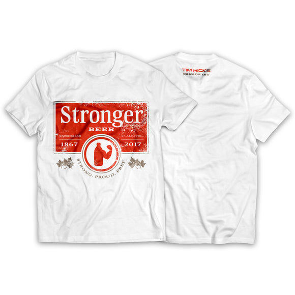 Stronger Beer 'Canada 150' Limited Edition T-Shirt